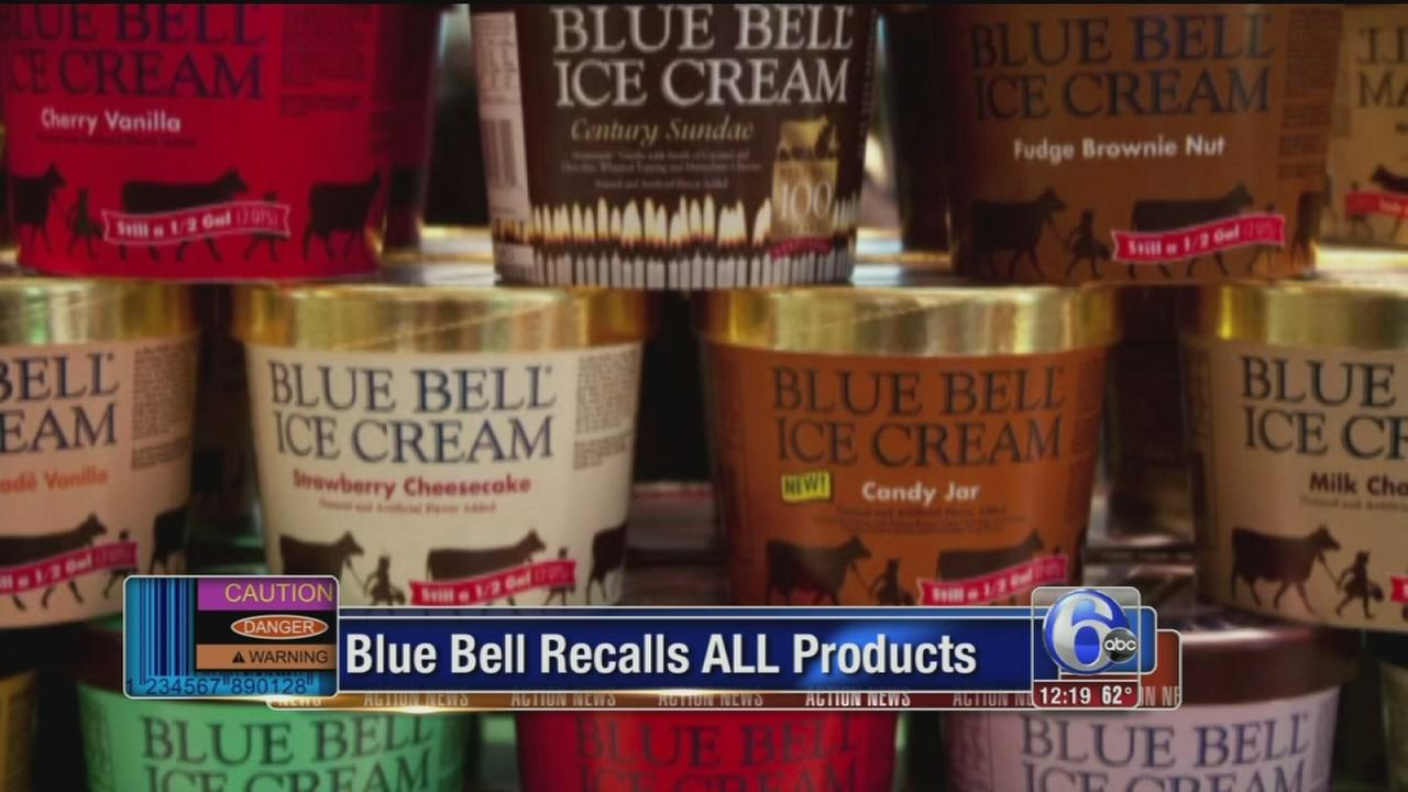VIDEO: Blue Bell Creameries issues recall of all products