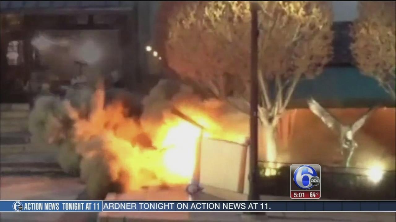 VIDEO: Undergound blast in Wayne knocks out power