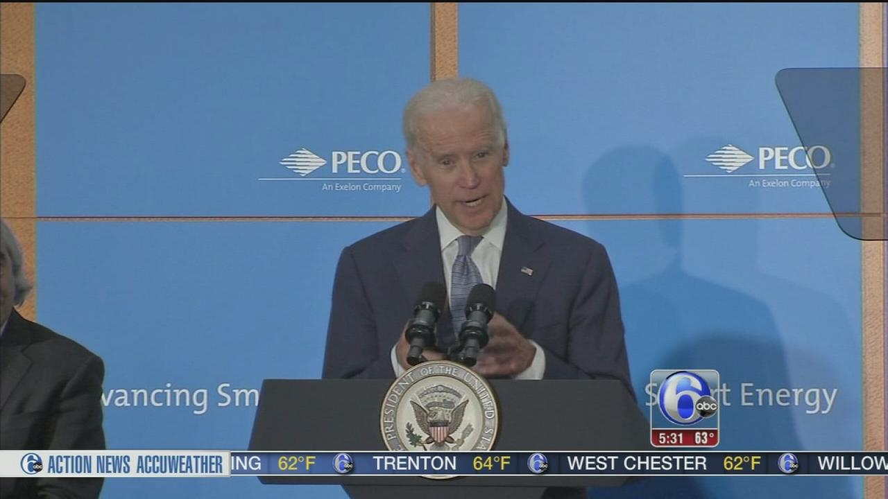 VIDEO: VP visits Philadelphia
