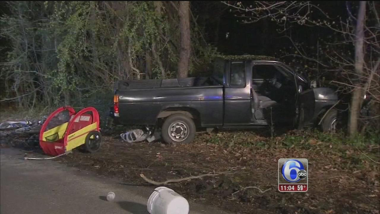 VIDEO: 4 children struck by truck