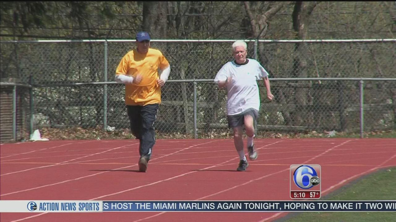 VIDEO: 94-year-old runner