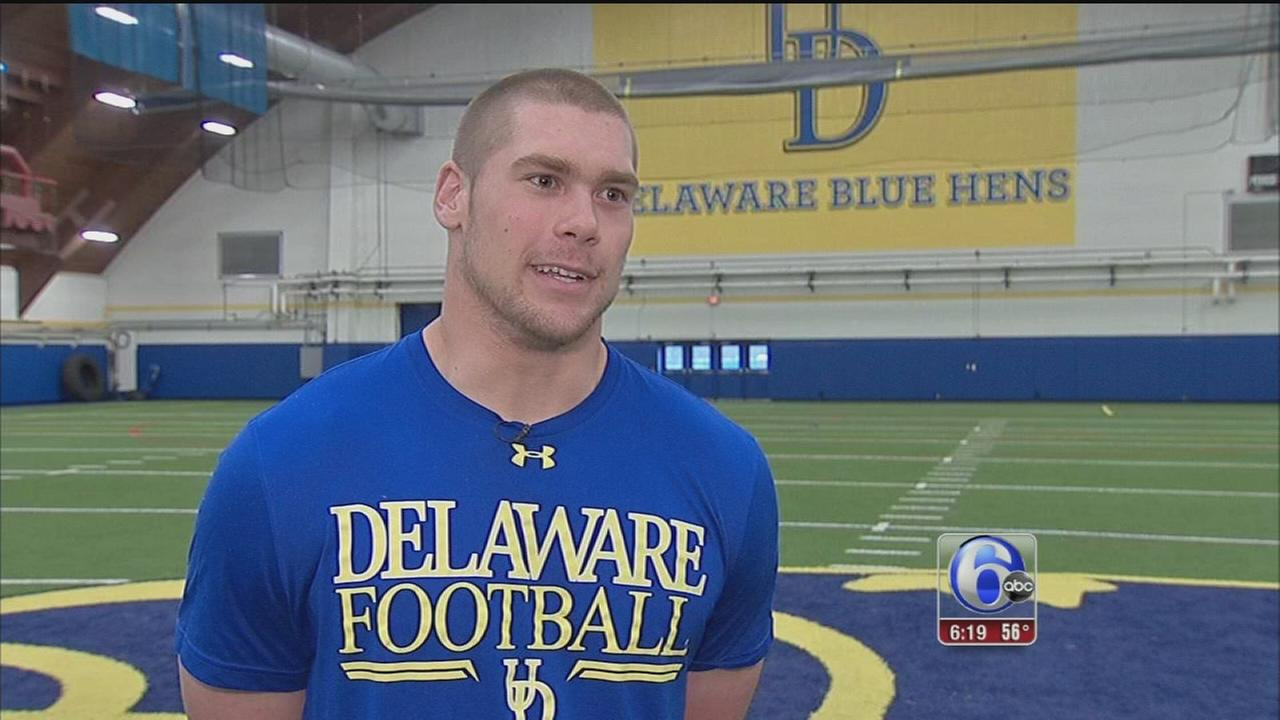 VIDEO: UDel.?s Nick Boyle talks NFL Draft
