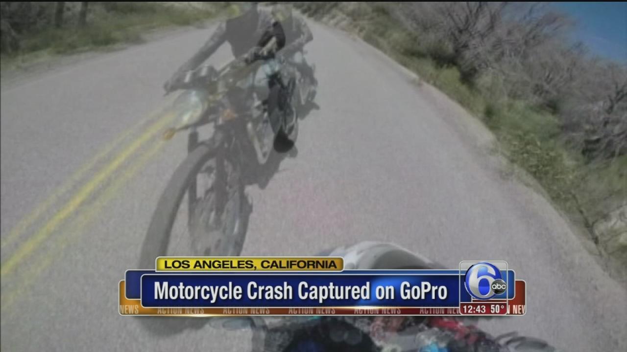 VIDEO: GoPro captures crash