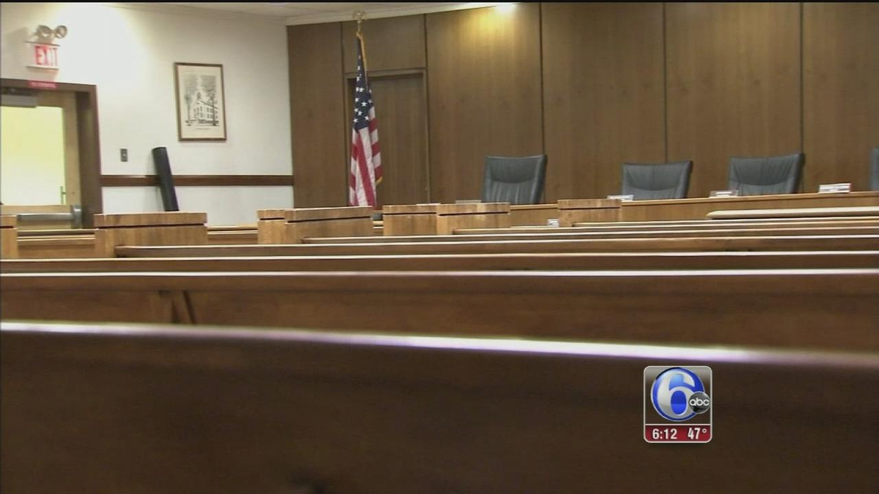 VIDEO: Ballistic armor installed in Lawrence Twp. council chambers
