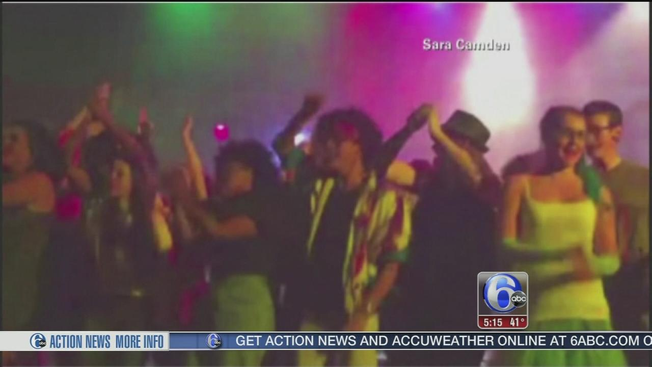VIDEO: Stage collapses during H.S. performance