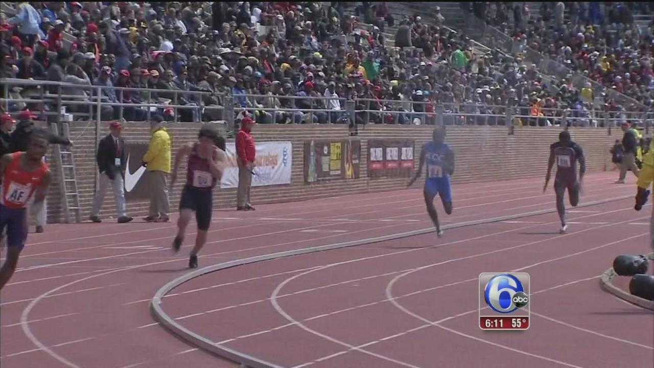 VIDEO: Off to the races at the Penn Relays