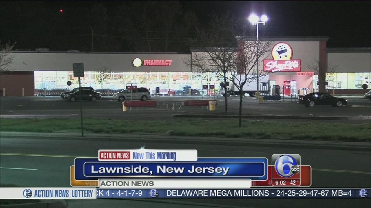 VIDEO: Man struck by car in Shop Rite parking lot in Lawnside