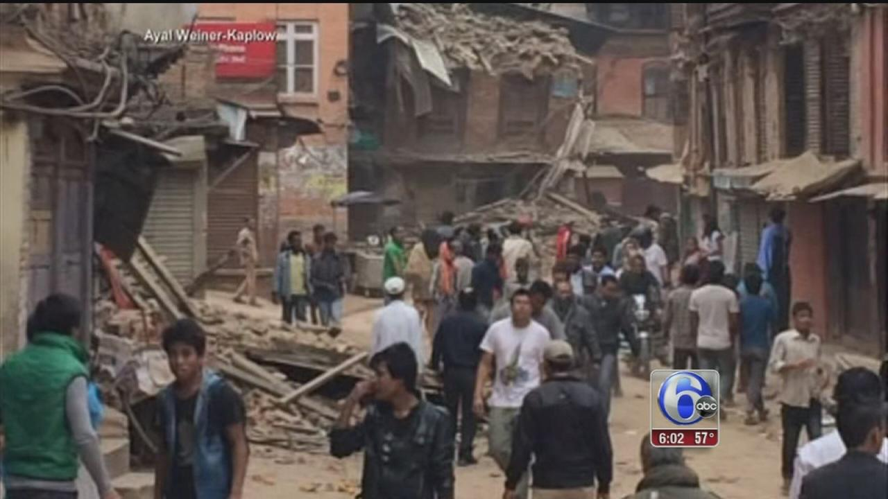 VIDEO: Nepal earthquake: Nearly 1,400 dead