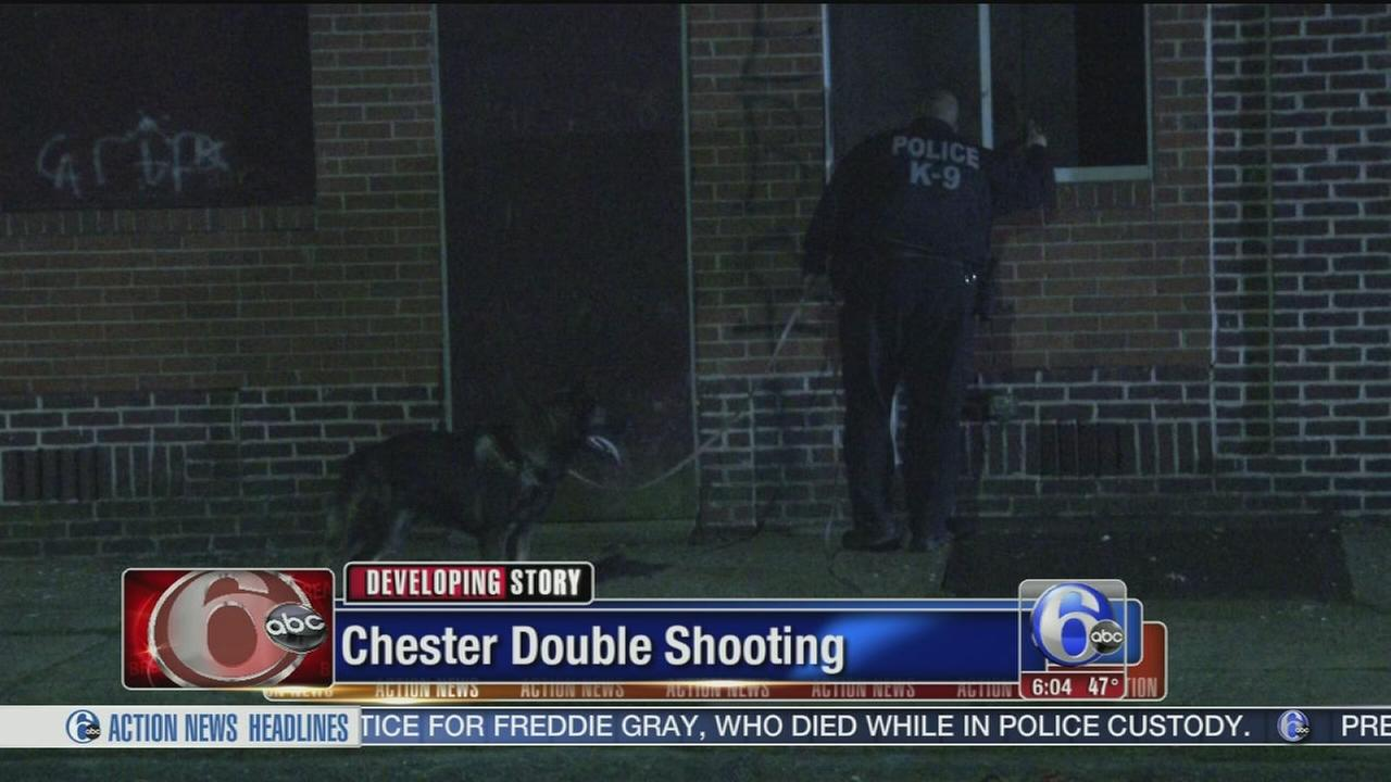 VIDEO: Double shooting in Chester