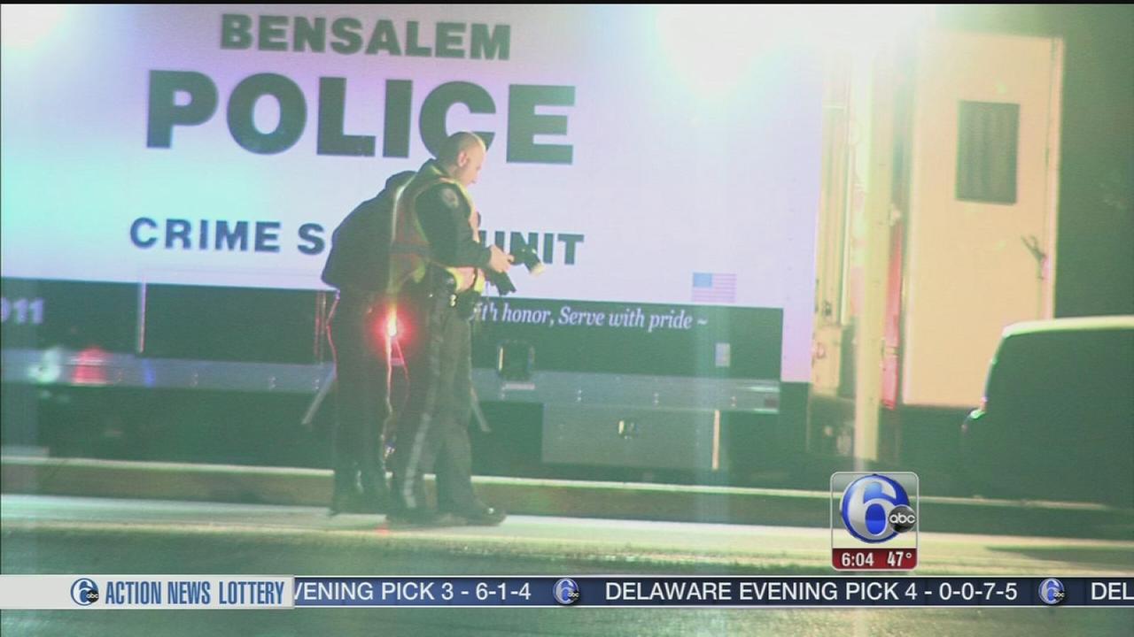 VIDEO: Pedestrian struck in Bensalem