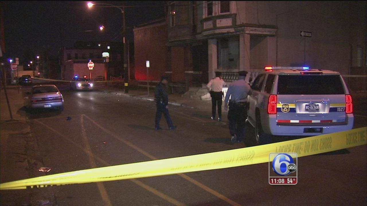 VIDEO: 5 suspects sought in Frankford shooting