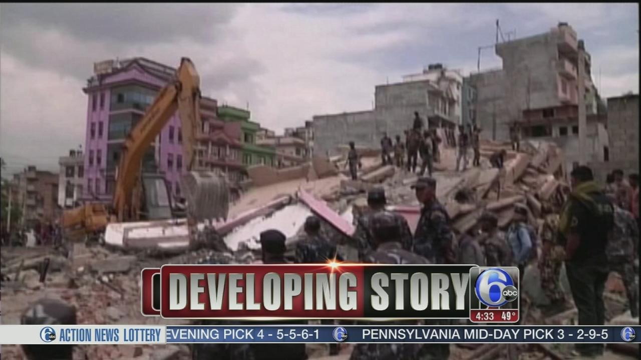VIDEO: Death toll rises from Nepal quake