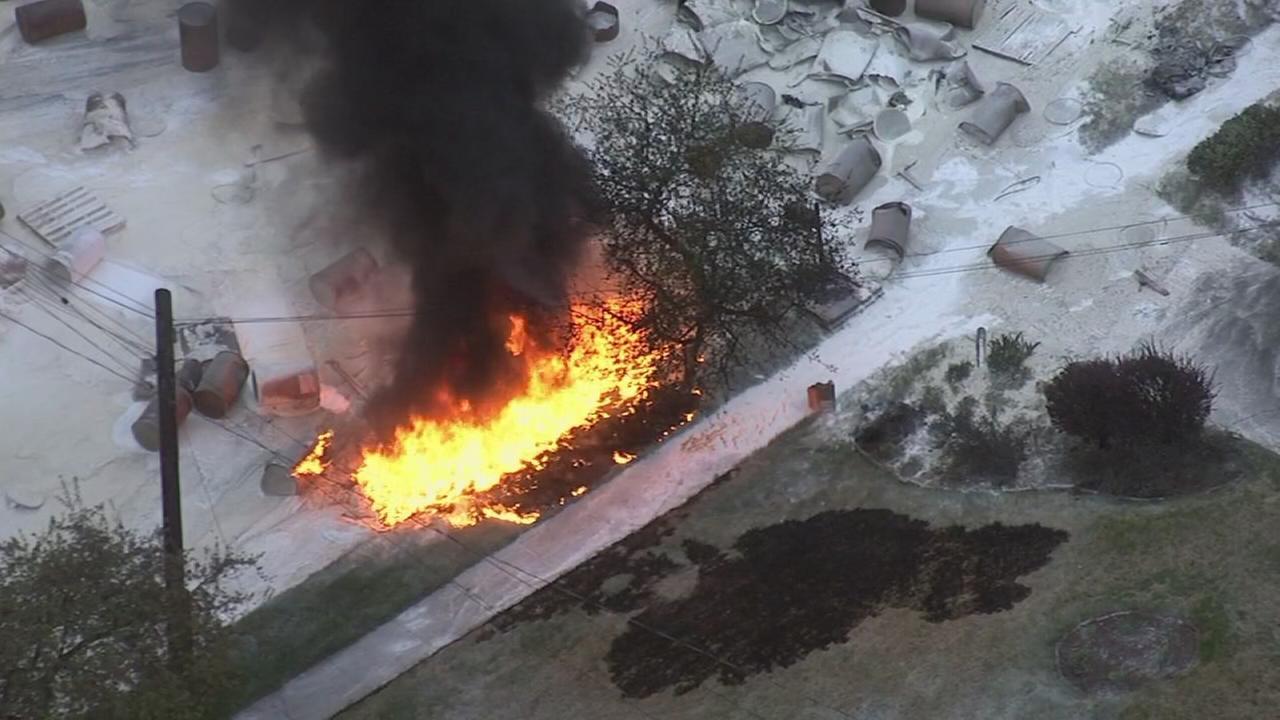VIDEO: Raw video of fiery Montco crash