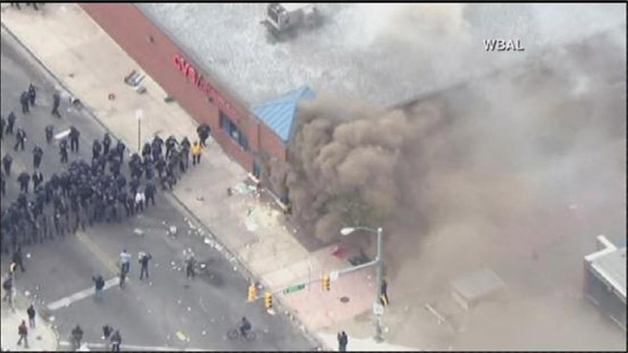 PHOTOS of riots in Baltimore