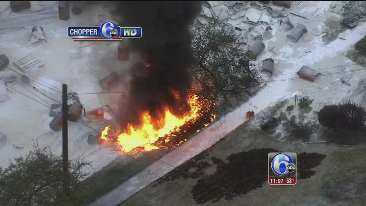 VIDEO: Deadly tanker crash in Lower Providence