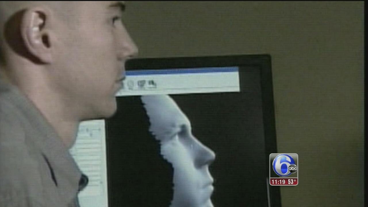 VIDEO: Photos creating facial recognition data