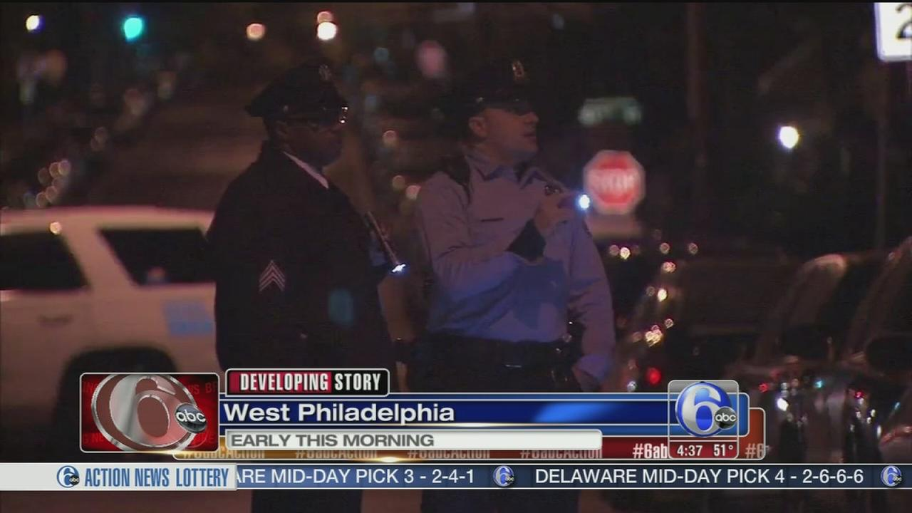 VIDEO: Several cars shot up on West Philadelphia street
