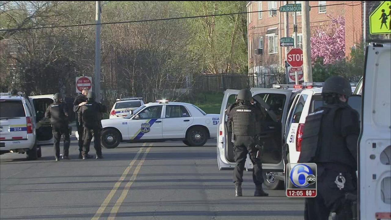 VIDEO: Police standoff ends with an arrest