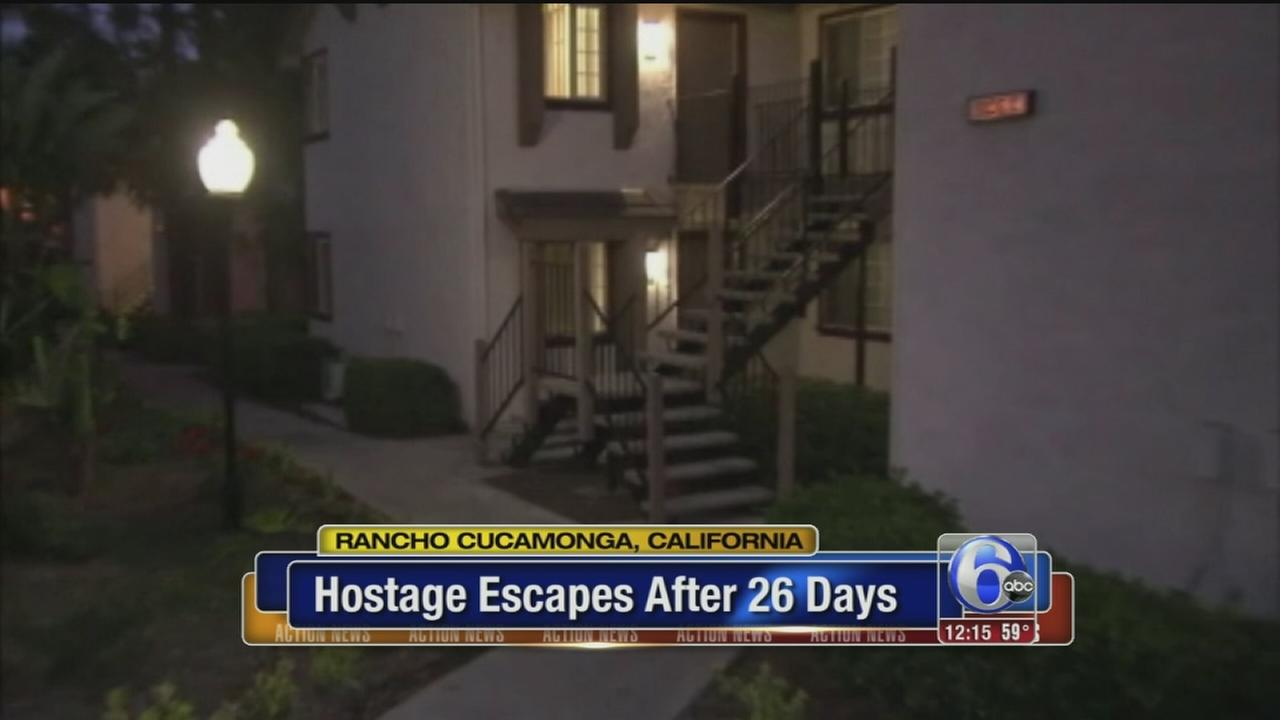 VIDEO: Woman escapes husband-captor after 26 days