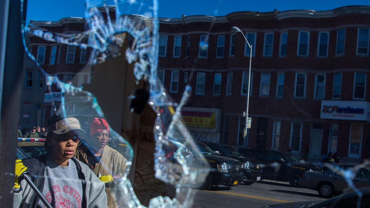 the baltimore riots and the death of freddie gray A frame grab from video showing freddie gray being put into a police van during his arrest on april 12 baltimore — baltimore's chief prosecutor.