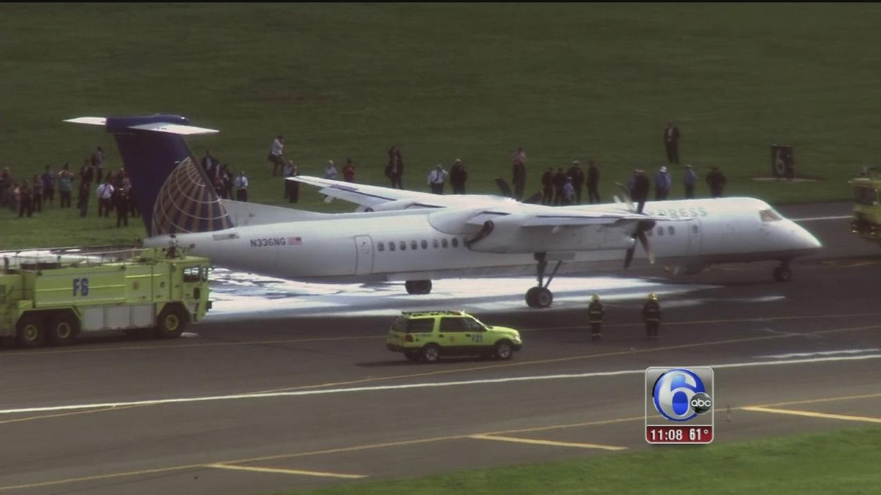 Plane makes emergency landing at Phila. International Airport