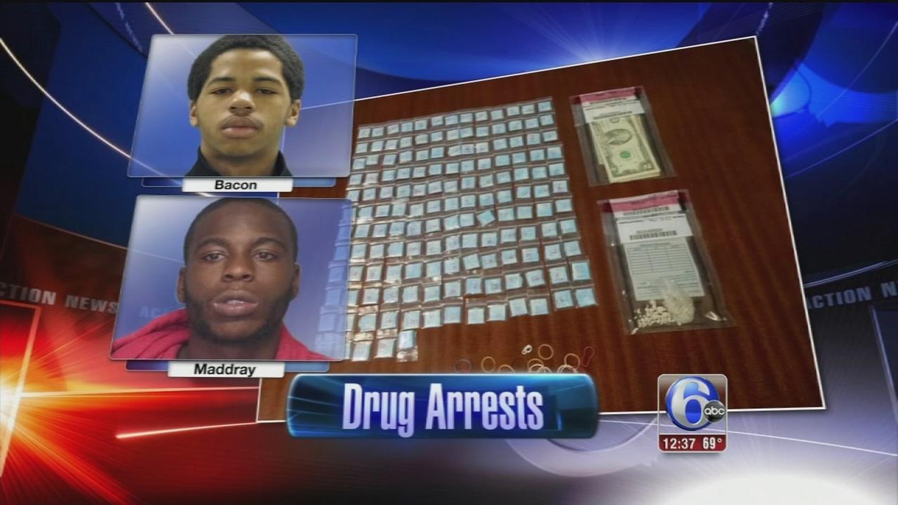VIDEO: Delaware drug dealer arrests