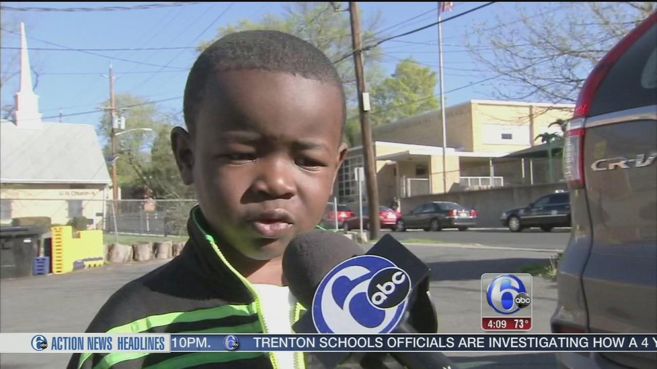 VIDEO: 4-year-old boy left on school bus