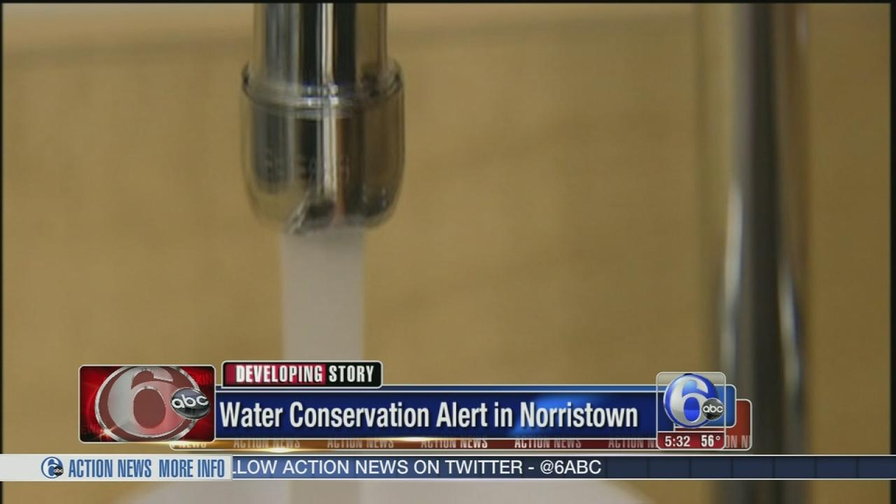 VIDEO: Water conservation ordered in Norristown area