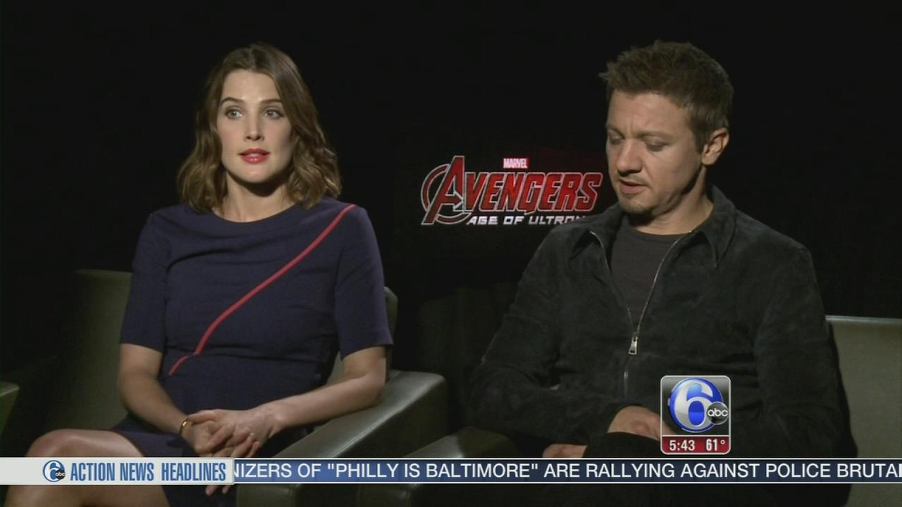 VIDEO: Inside scoop from the Avengers!