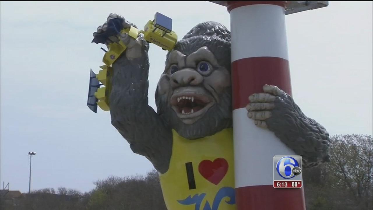 VIDEO: King Kong returns to North Wildwood