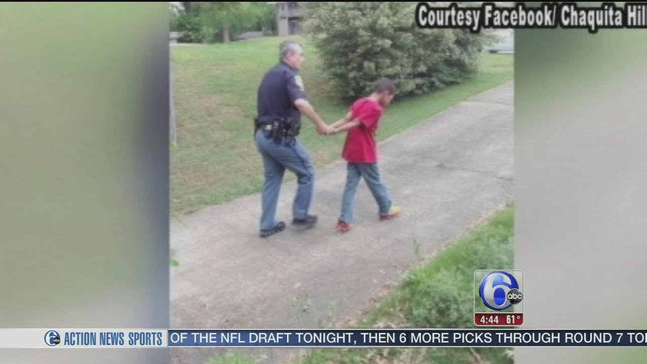 VIDEO: Mom has son fake arrested