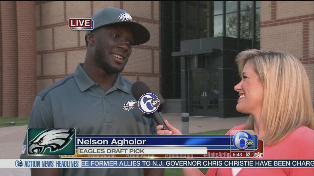 VIDEO: Nelson Agholor on Action News