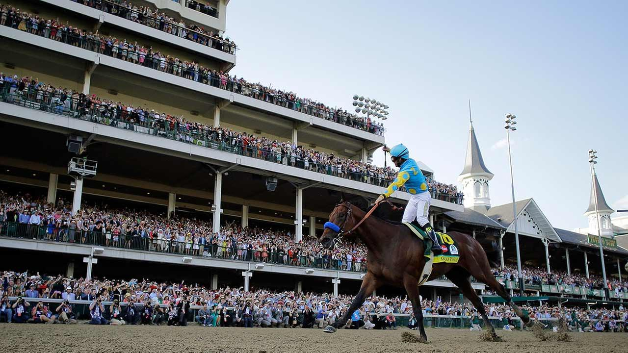 2015 Kentucky DerbyAP Photo/Morry Gash
