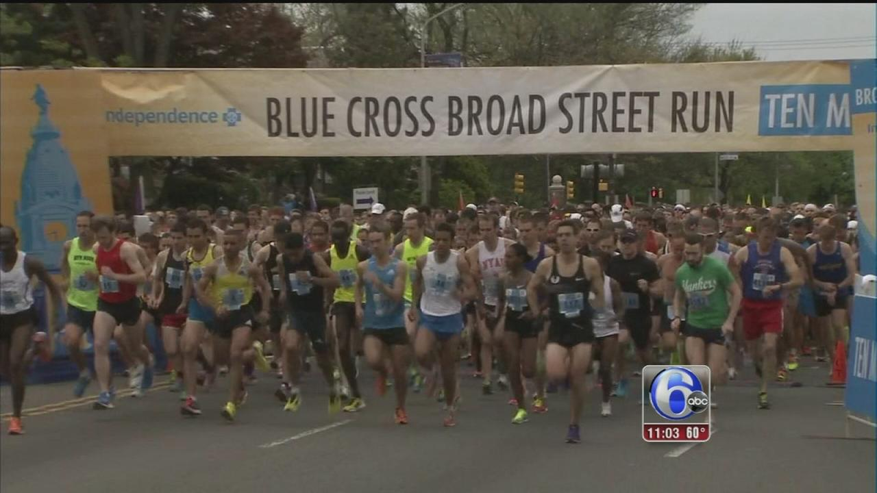 VIDEO: Buzz building for Broad Street Run