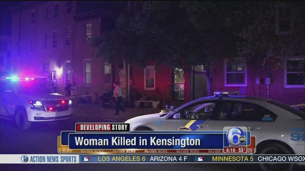 VIDEO: Woman killed in Kensington