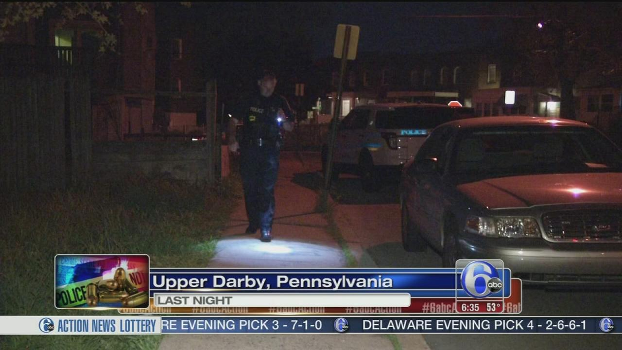 VIDEO: Police investigate Upper Darby shooting