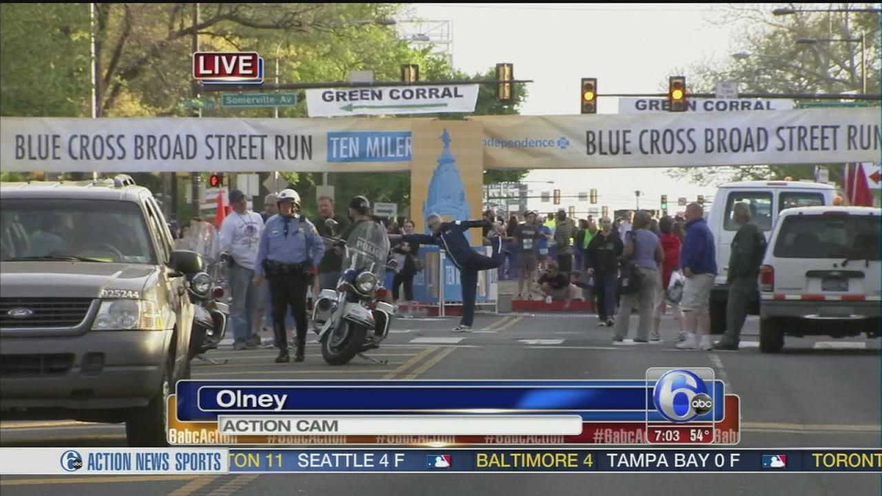 VIDEO: Gearing up for Broad Street Run