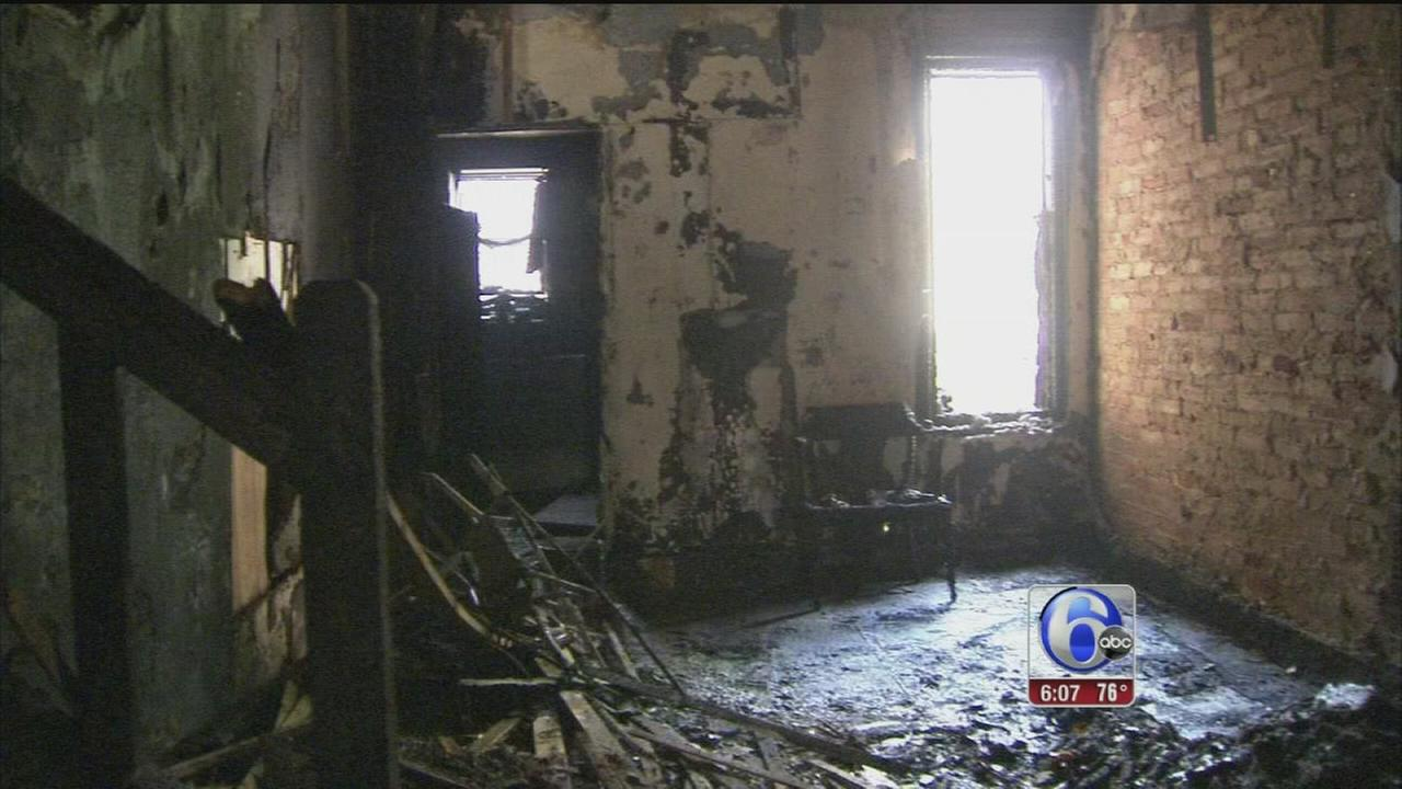 VIDEO: Mother, son critically burned escaping Camden fire