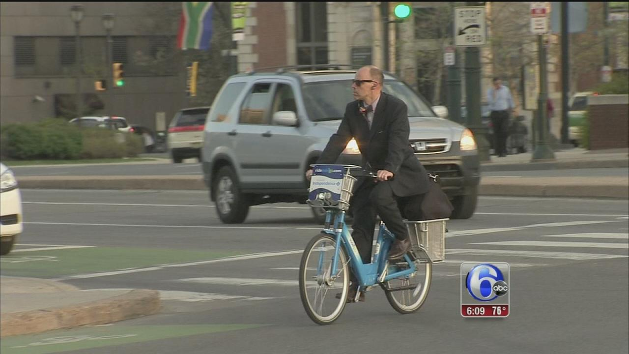 VIDEO: Indego bike share: a new way to get around Philly