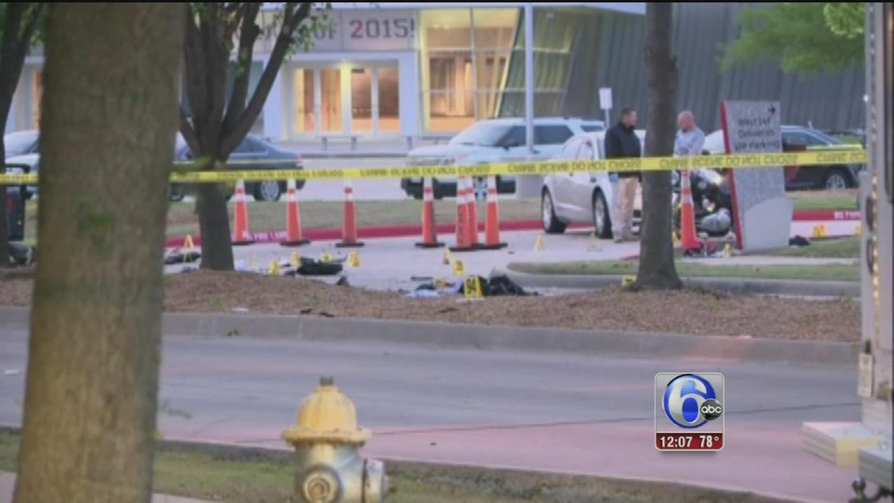 VIDEO: Texas terror attack