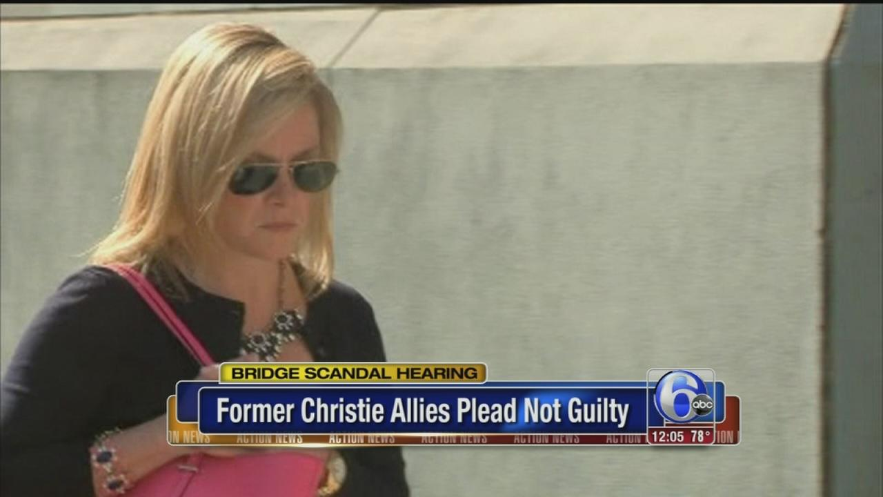 VIDEO: Ex-Christie allies plead not guilty in bridge case