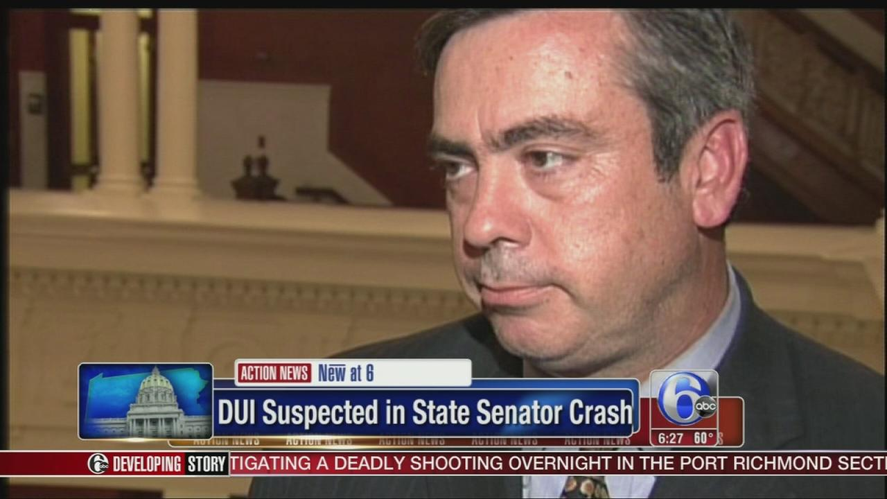 VIDEO: Police: Crash that injured Pa. lawmaker may be DUI case