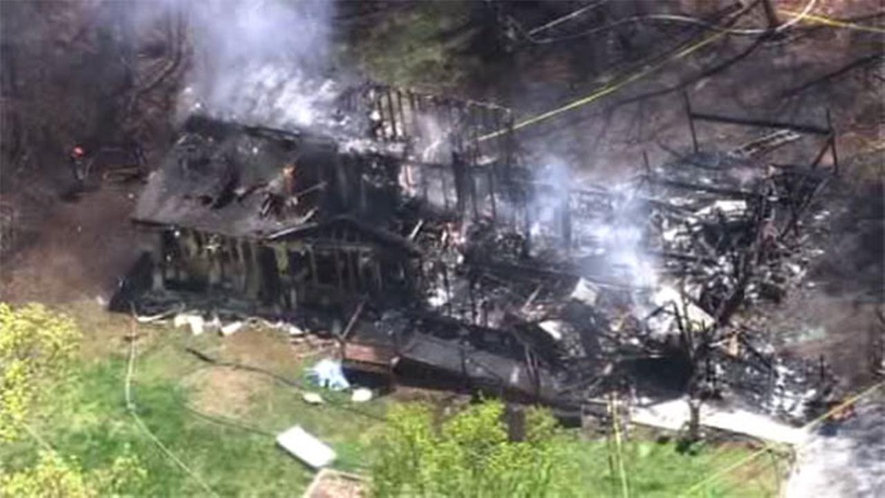 Fire in West Caln Twp.