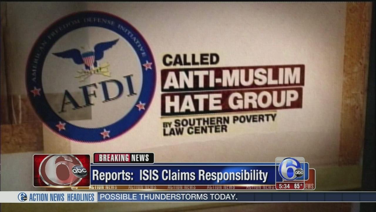 VIDEO: ISIS claims responsibility for attack