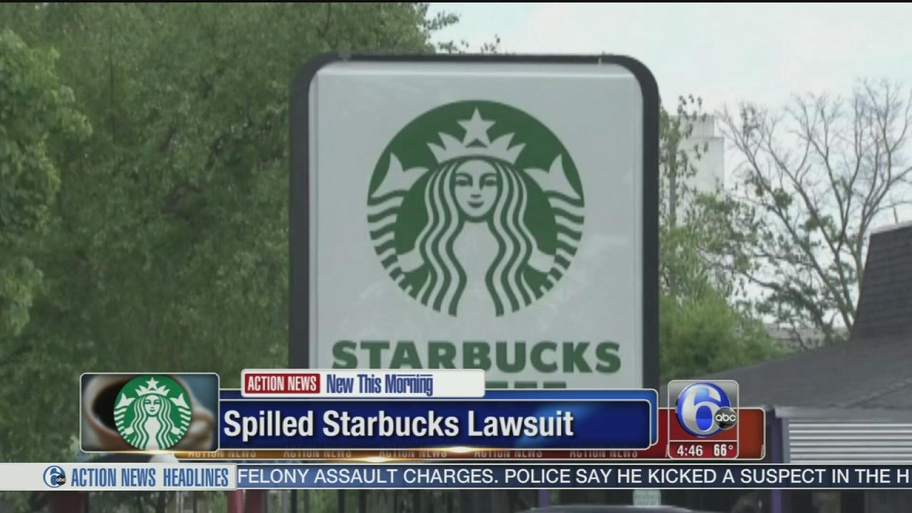 VIDEO: Police ofc. sues Starbucks over spilled coffee