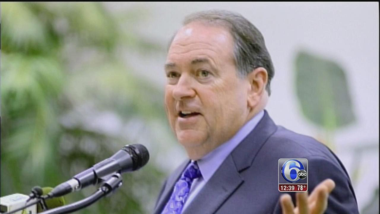 VIDEO: Huckabee campaign announcement