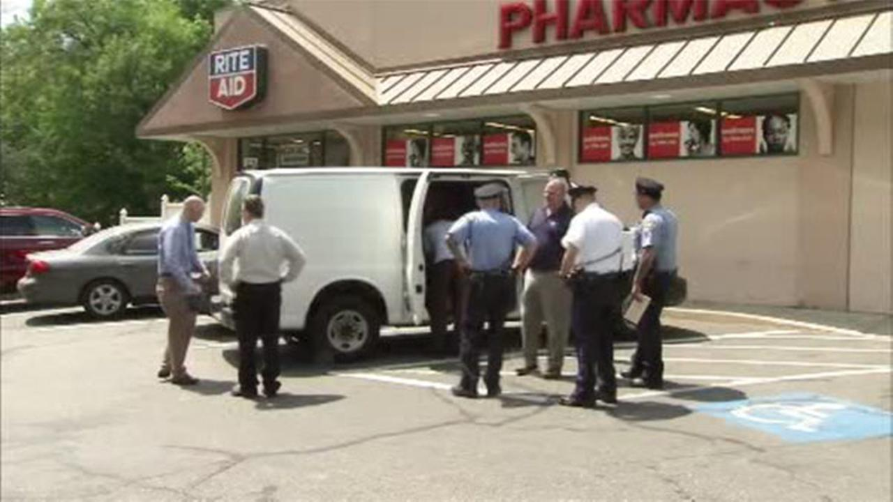 Meds stolen from delivery van outside East Falls Rite Aid