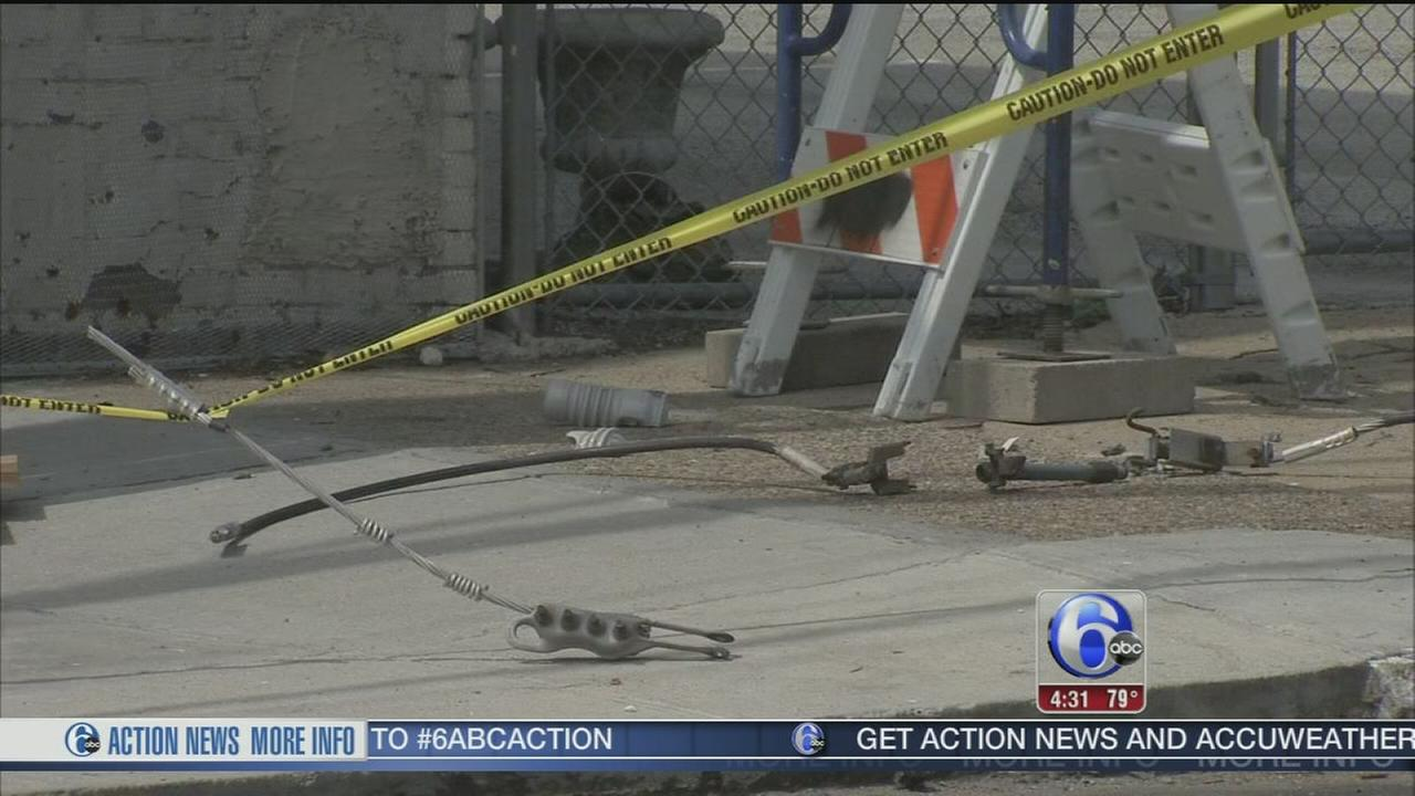 VIDEO: Worker burned in electrical accident