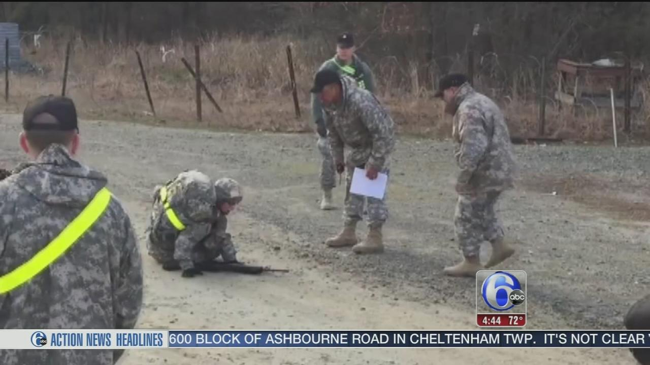 VIDEO: Soldiers determination goes viral