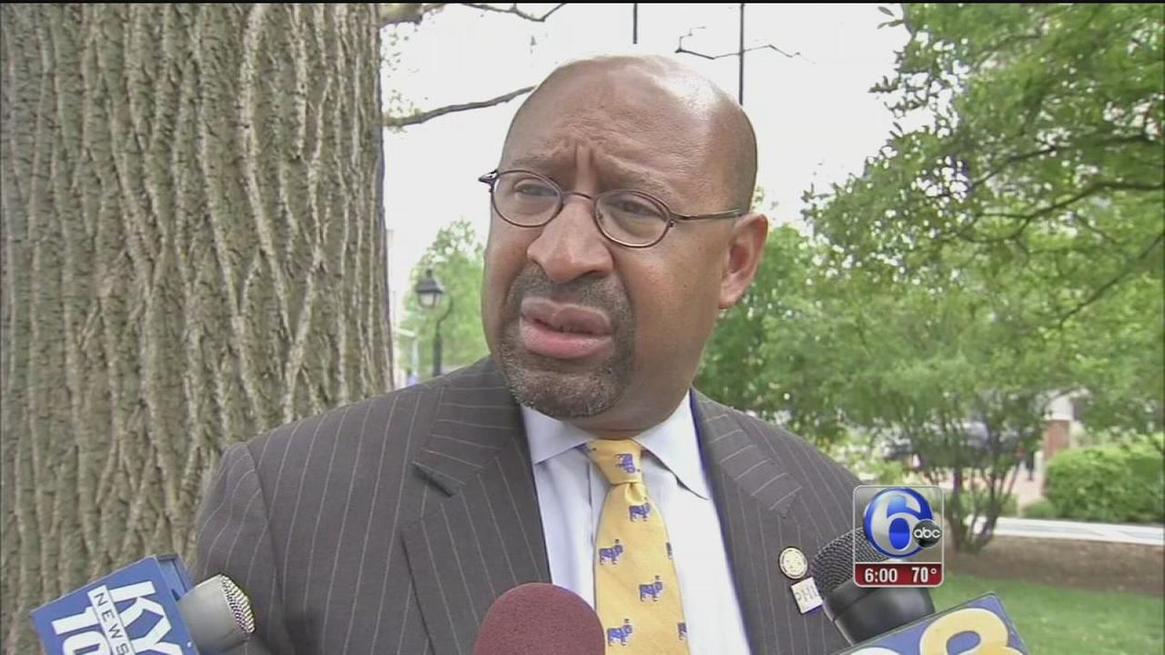 VIDEO: Harsh remarks from Mayor Nutter